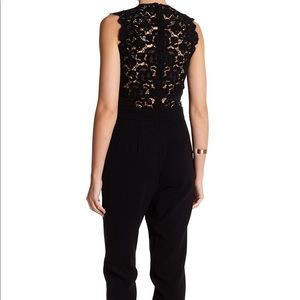 Rebecca Taylor sleeveless lace jumpsuit, NWT